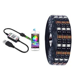 USB LED Strip Light SMD 5050 RGB Colorful DC5V Flexible LED