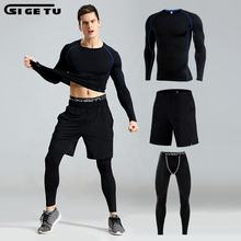 SUPER SEPTEMBER running suit mens gym wear sports clothes with great price