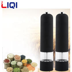 Hot Sale stainless steel battery electric salt and pepper mill grinder