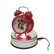 New Design Automatic Electric Turntable Panoramic Dynamic Color Changing LED Rotating Display Stand Base