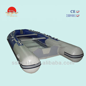 Sunshine PVC 6 person aluminum inflatable boat