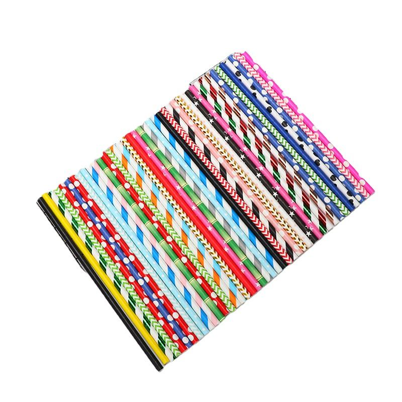 Cheap Factory Price crown paper straws crazy bulk 8mm craft party with wholesale