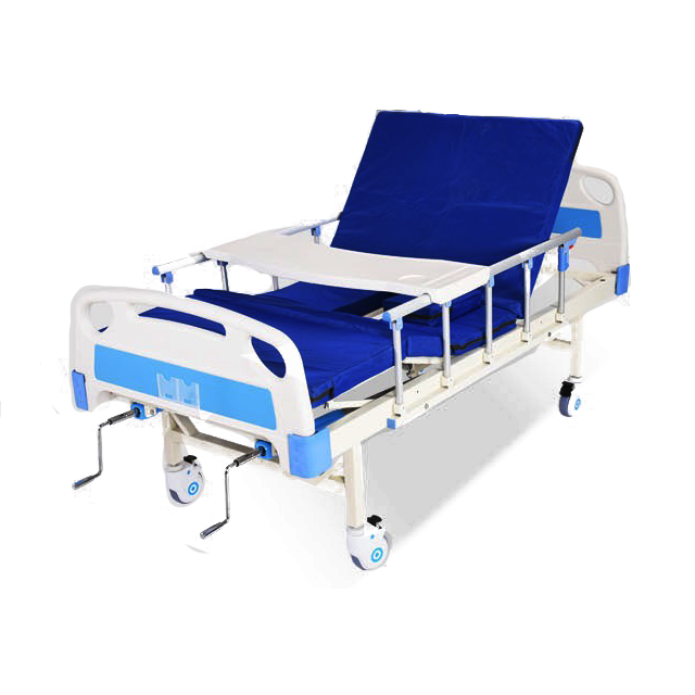 Bestseller Good Price Hospital Furniture Manufacturers 2 Functions Two Cranks Manual Hospital Bed