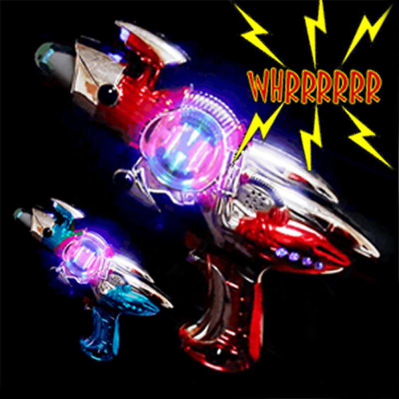 Gel blaster Blinkee Light Up Spinning Barrel Space Gun-Laser Space Blaster Toy- Flashing Toy Gun-Glowing Space Gun For Children