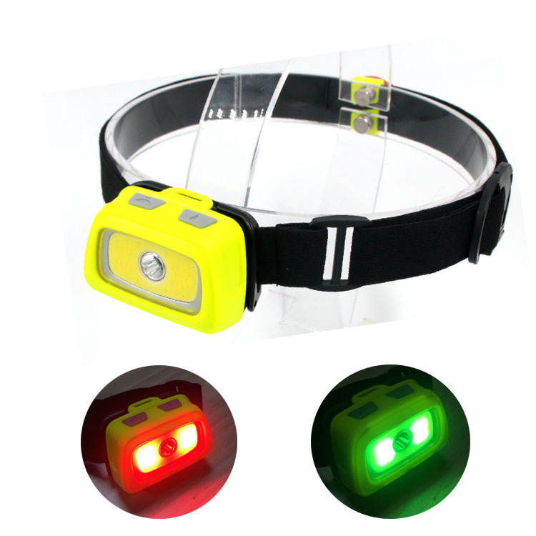AAA Battery Button Led Lights Camry Adjustable Head Torch Hunting Flash Head Lamp LED Headlamp