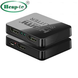 hdmi splitter 1x6 | HDCP 4K HDMI Splitter 1x2 Full HD 1080p Video 1 in 2 Out