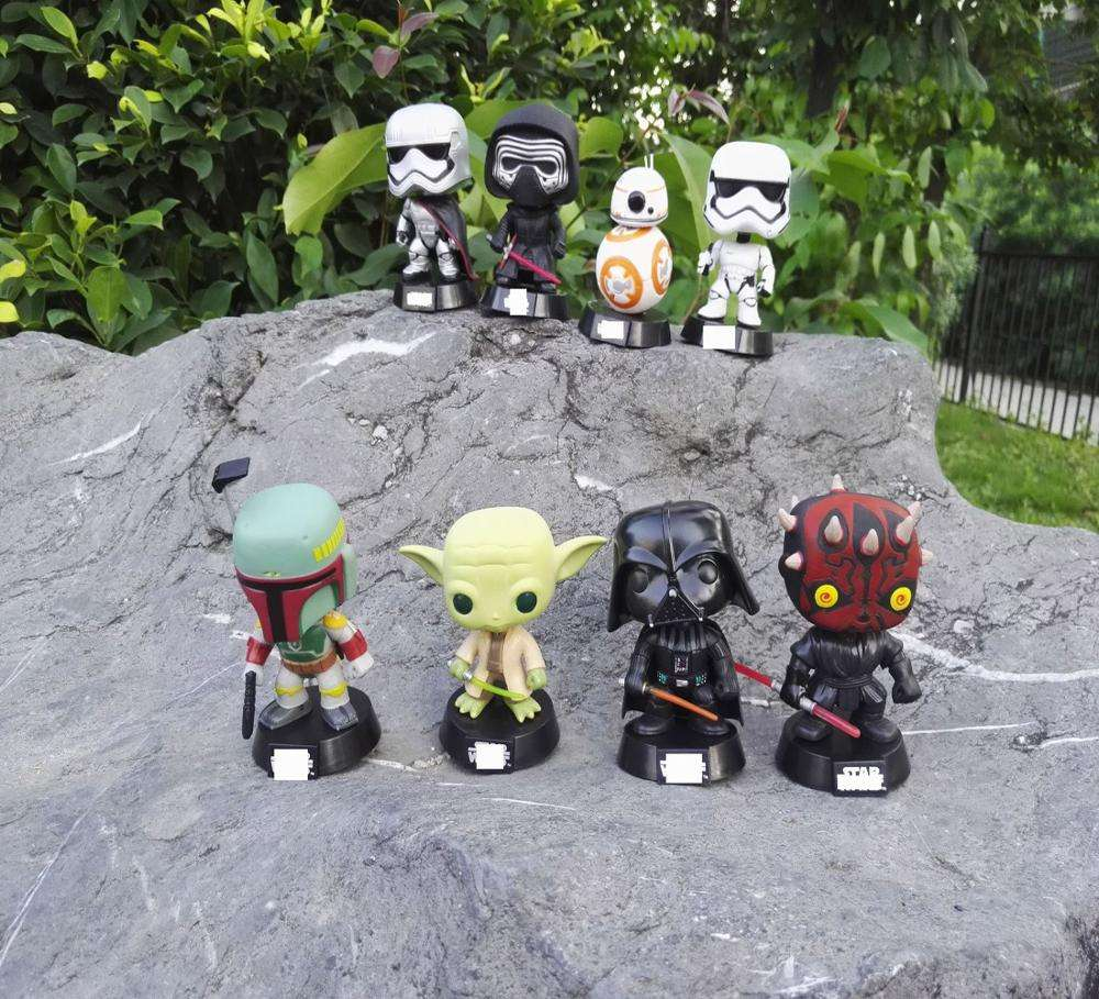 Pop Mandalorian Baby Yoda Jedi Knight PVC Action Figure Collectible Model Toy Doll Gift QTA-2153