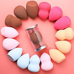 Amazon Best Sell Soft Beauty Water-drop Shape Makeup Puff 100% Natural latex free Cosmetic Sponge