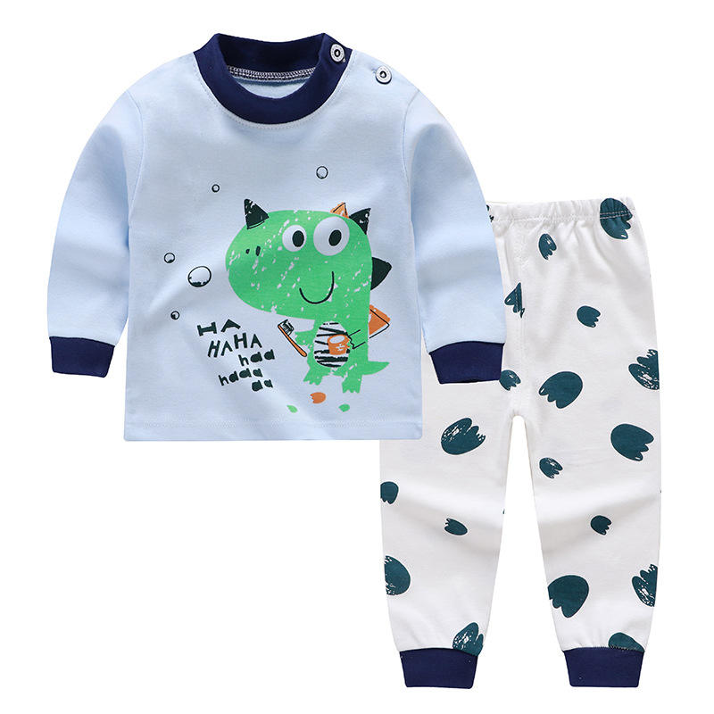Girls Boys 2pcs Baby Girl Long Sleeve Children's Sets O-Neck Cotton Underwear Suit toddler girl Winter clothes