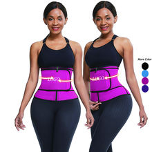Big Discount Rose Red Neoprene Weight Lose Women Custom Corset Waist Trainer Shaper