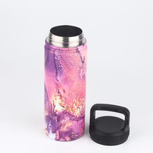 500ml Double Wall Water Cup Insulated Gourd Shaped Stainless Steel Thermos Bottle