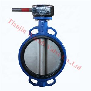 explosion proof gear operators seal butterfly valve