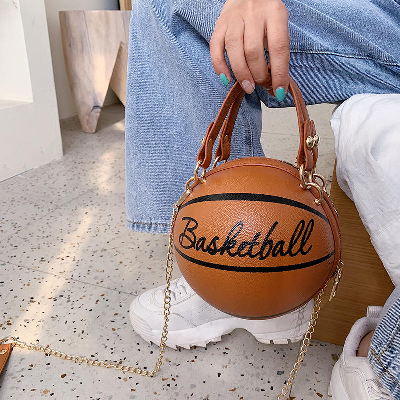 Basketball purse handbag little girl mini purses and handbags