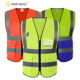 Running shanghai join forces hi vis vest Workwear class 2 reflective jacket high visibility safety vest security with 2 Pockets