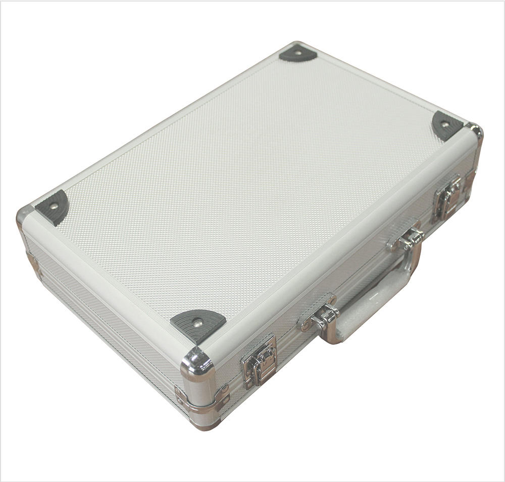 DRX Custom Size Travel Case APC014 Cosmetic Case Aluminum Hard Carry Case