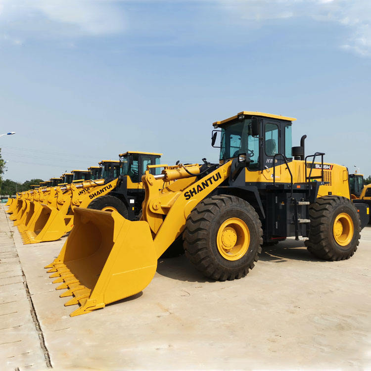 SHANTUI Compact Wheel loader SL56H 5 TON with 4 CBM Bucket