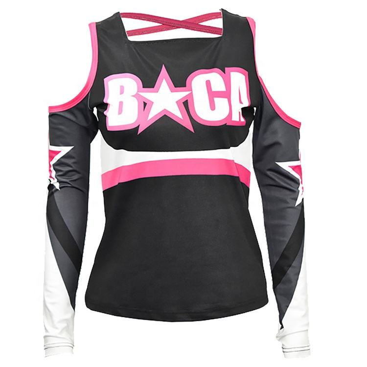 Hoge Kwaliteit Plus Size Custom <span class=keywords><strong>Cheerleading</strong></span> Uniform <span class=keywords><strong>Cheerleading</strong></span> <span class=keywords><strong>Kleding</strong></span>