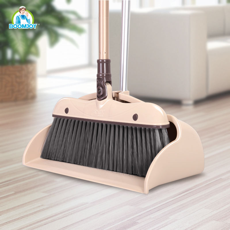 Boomjoy Y1japanese broom and dustpan telescopic broom handles for sweeper