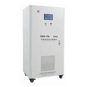 SVC 20KVA 3 Phase Motor Tipe AC Otomatis Universal Voltage Stabilizer