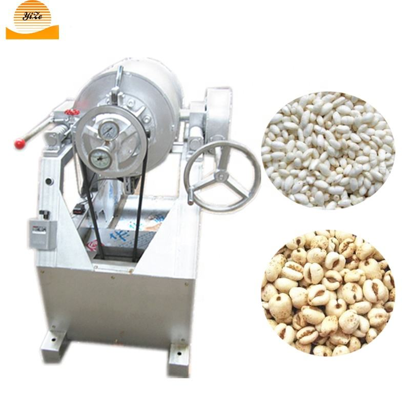 AirFlow Puffed Rice Machine Prices Grain Puffing Machine Maize Corn Popping Machine