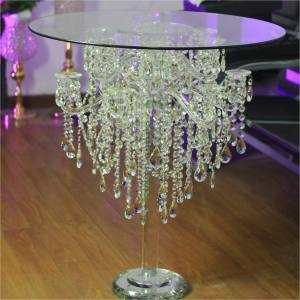 ZT-278 Gorgeous saixin wedding event decoration crystal cake table