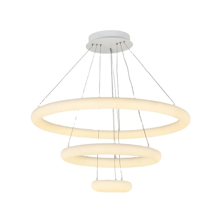 Factory Price New Design Living Room Home Decorative Circular Ceiling Modern Luxury Led Chandelier Pendant Light