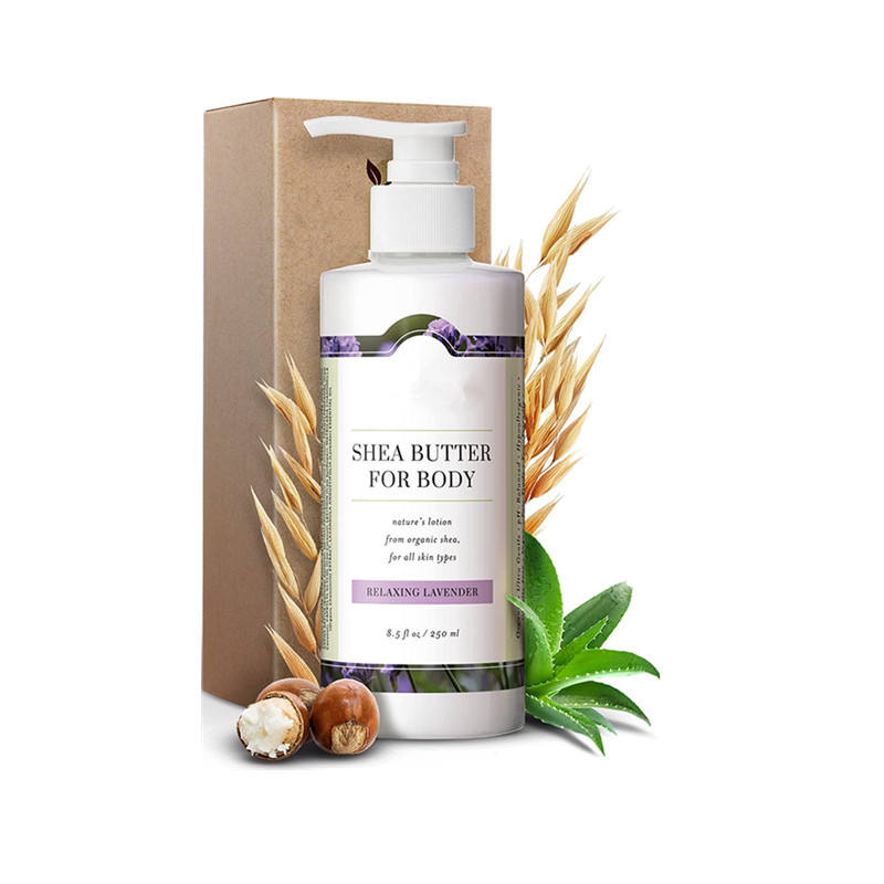 Light, Quick Absorb, with Organic Shea Butter, Cocoa Butter natural body lotion