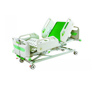 New style Five function electric Hospital bed with PP side rails