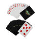 Manufacturer China custom logo printed paper plastic playing cards customized poker card game
