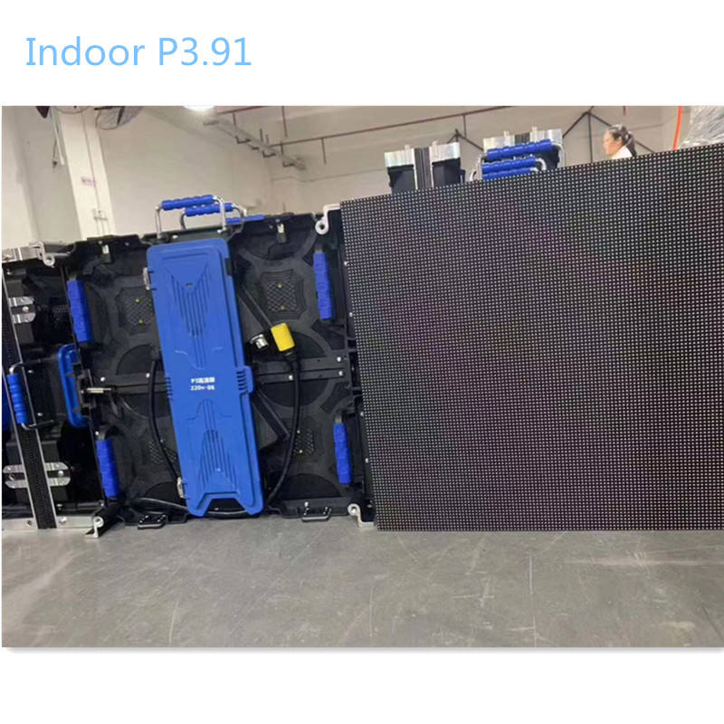 Interior 500x500mm panel p3.91P4.81 alquiler led video pared pantalla
