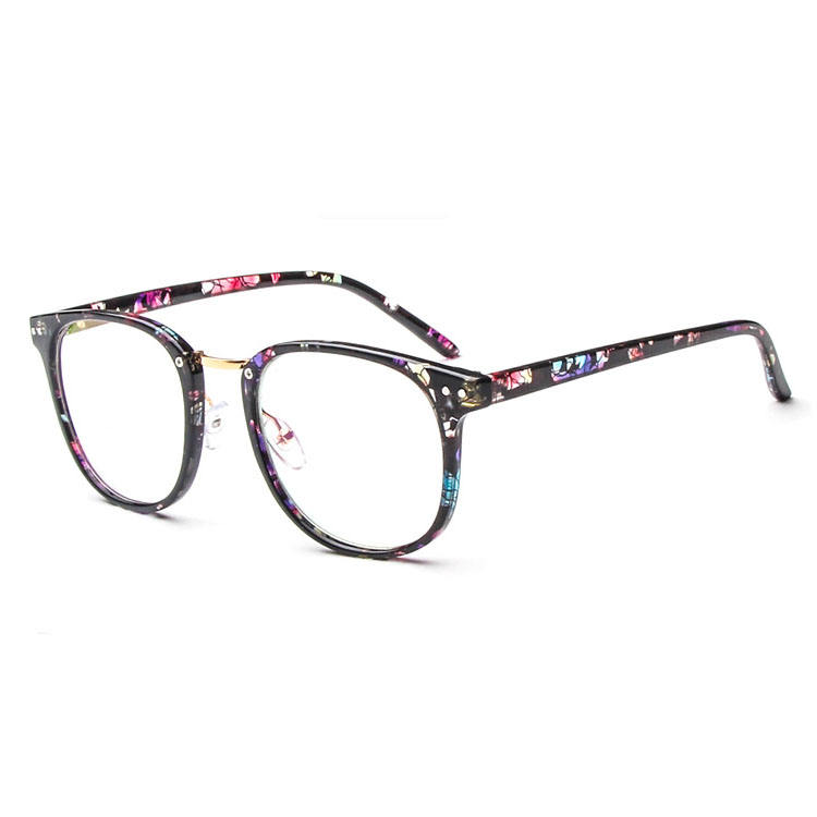 Vintage big frame fashion PCglasses,full- rim eye glasses supplier optical,Fashion optics for both men and women