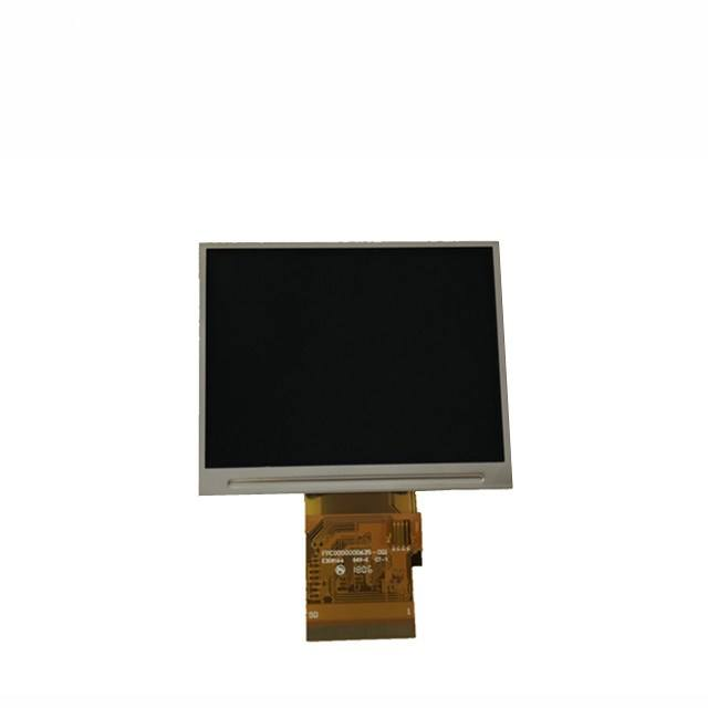 3.5 inch rohs display modules 320x240 250 cd/m2 CPU interface lcd module