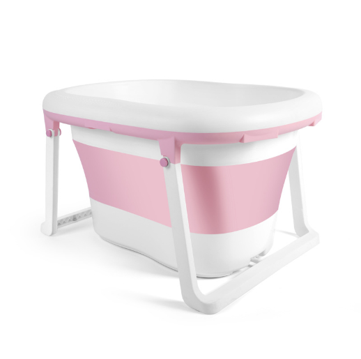 2020New version High Quality TPE material plastic Folding Baby Bath Tub for Kids