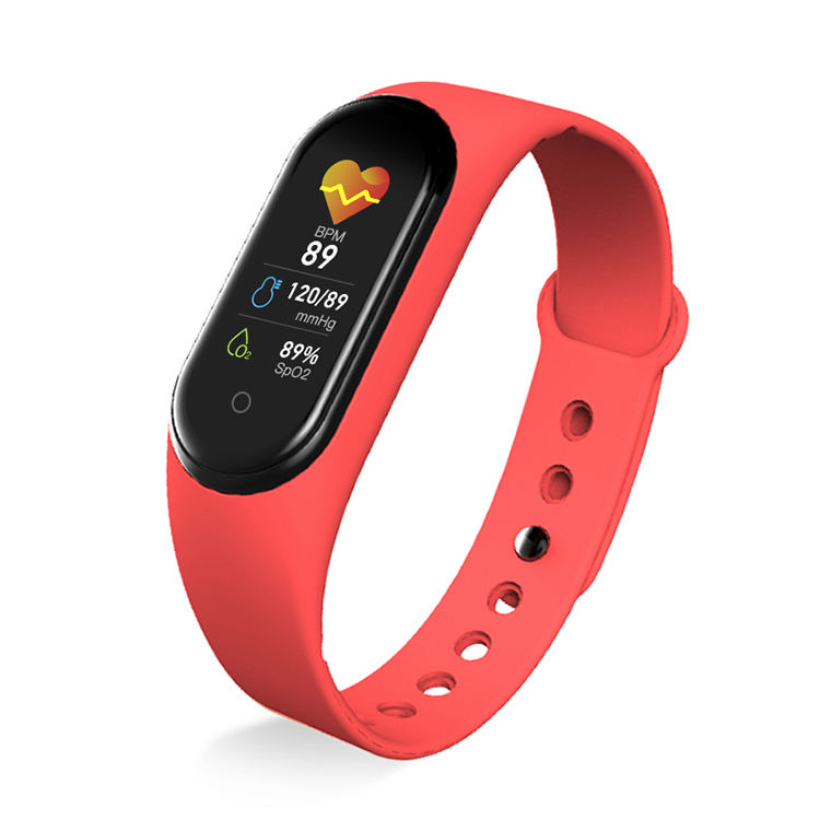 New M5 smart band bracelet watch IP68 Waterproof Blue tooth call Music Play Heart rate Tracker smart watch m5