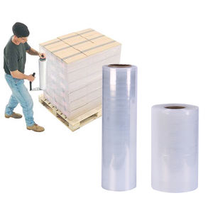 Custom Size Factory Price Pallet Stretch Wrap Cast Stretch Film Shrink Wrap Film / Stretch Film