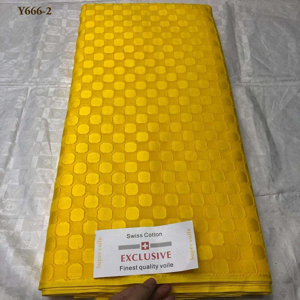 Newest High Quality Swiss Cotton Voile Lace Austria 2019 Voile Swiss Lace Fabric African Swiss Cotton Voile For Garment