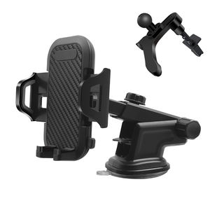 Universal Screw Cell Mobile Accessory Stand Dashboard Phone Holder Car Mount