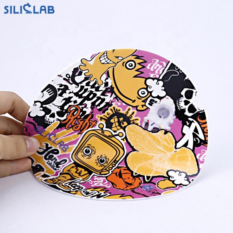 New Arrival Smoking Accessories Silicone Smoking Mat With Custom Printing logo
