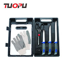 High quality fishing fillet knife kit with carrying case
