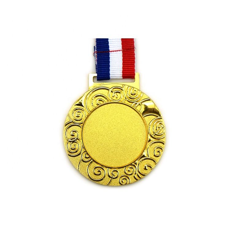 China Manufacture Metal Plated Swimming Sport Medal Custom Logo
