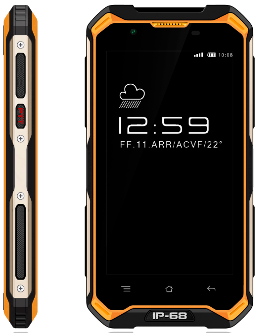 NEW style GSM/4G Android 6.0 intrinsically industrial safe mobile phone for industry hazardous area