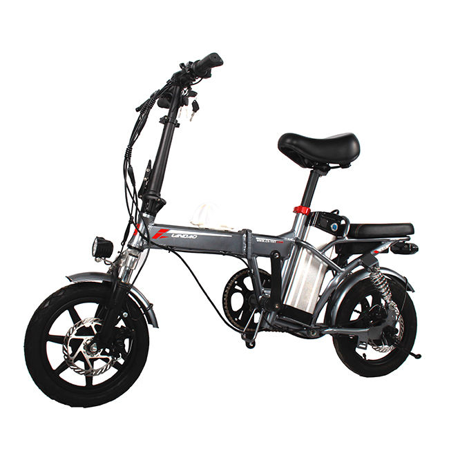 2019 Hot Selling OEM/ODM China Factory Light Weight Top Quality Customized 14 Inch Al Alloy Frame Mini Folding Electric Bike