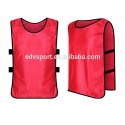 Blank soccer & football training vest bibs colors optional