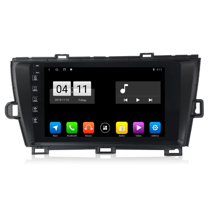 Mekede M Android 10.0 IPS DSP Multimedia Car Video DVD for Toyota Prius 09-13 Car DVD Player GPS Navigation Radio Stereo