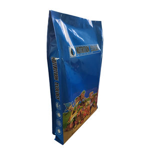 5kg Plastic Bags Resealable Aluminum Foil Fertilizer Soil Packaging Bag