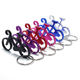 Outdoor EDC Multi Bike Beer Opener Key Chain Ring Holder Tool Kitchen Accessories Aluminum Metal Bicycle Bottle Opener Keychain