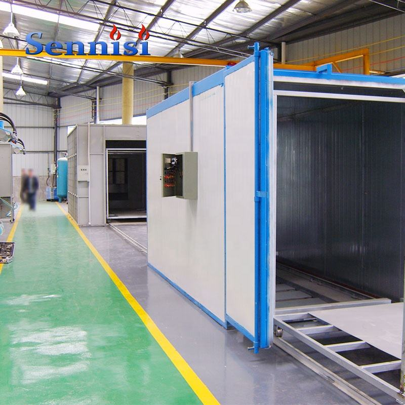 Machinery painting, Production coating,Powder coating production line for machinery