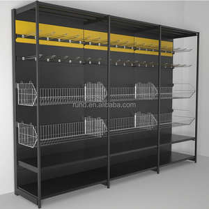 shop shoe wall rack RD-36# Supermarket display shelving