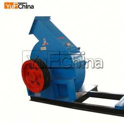 CE ISO 500-1000kg/h Diesel Engine Disc Wood Chipper For Sale By Owner