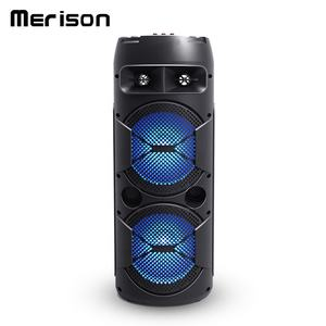 Portable car subwoofer 8 inch large karaoke wireless bluetooth speaker with usb port